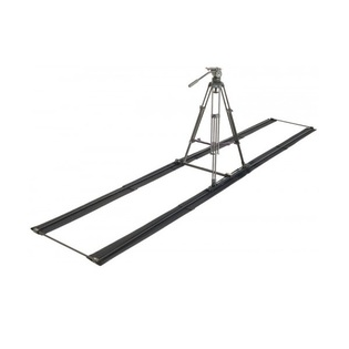 Proaim Swift Portable Dolly, 12ft Aluminum Track, 100mm Tripod Stand