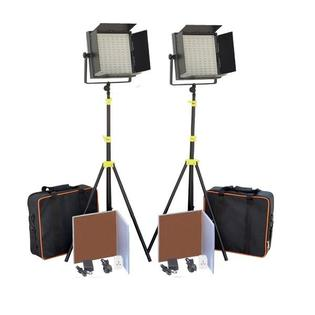 CAMTREE 2x1000pc Tungsten LED, Tripod Stand