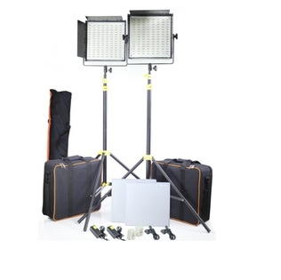 CAMTREE 2x1000pc Bi Color LED, Tripod Stand